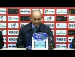 Rueda de prensa de  Paco Jémez tras el CD Numancia vs Rayo Vallecano (2-2)