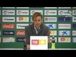 Rueda de prensa de  Guti tras el Elche CF vs UD Almería (1-1)