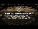 2020 MLS All-Star Game: Opponent Announcement