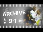 THE ARCHIVE | SPURS 9-1 WIGAN | Defoe scores FIVE in Spurs biggest ever top flight win!