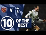 10 OF THE BEST | SPURS BEST GOALS AGAINST WEST HAM | Ft. Son, Bale & Defoe