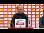 Rueda de prensa de  José Alberto López tras el Real Sporting vs CD Tenerife (0-2)