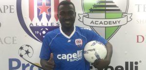 Inter Allies new signing Kofi Frimpong express delight after completing move