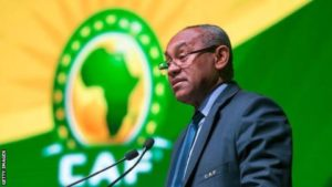 Africa calls on Caf president Ahmad to seek second term