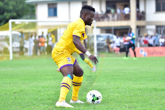 Former Medeama defender Amos Korankye close to joining Ebusua Dwarfs