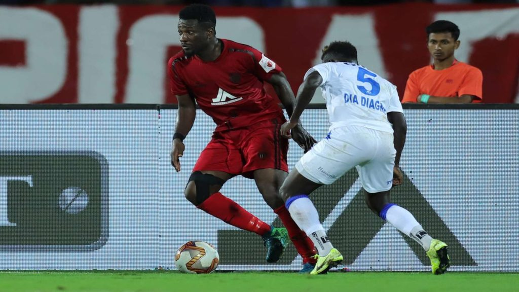 Gyan features as NorthEast United defeat Hyderabad FC
