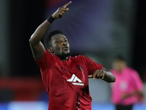 ATK coach cautions his defense on Asamoah Gyan