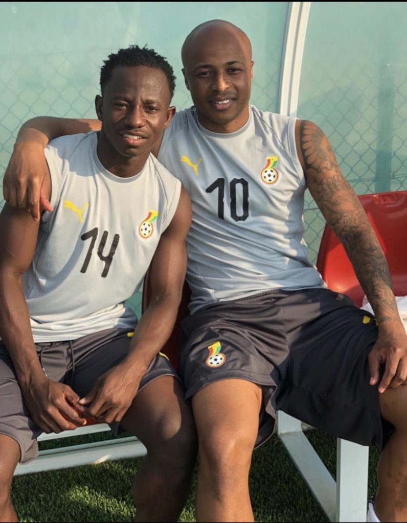 U-23 AFCON: Ayew sends goodwill message to Black Meteors ahead of Cameroon game