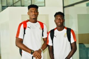 Hearts of Oak wishes Ayi, Denkyi well ahead of start of CAF U-23 AFCON