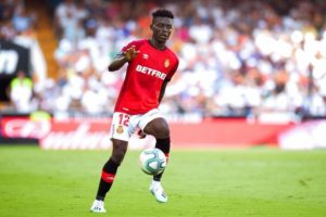 Iddrisu Baba still a doubt for Real Mallorca ahead of Levante clash