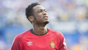 EXCLUSIVE: Defender Baba Rahman begins training at Real Mallorca after two months layoff