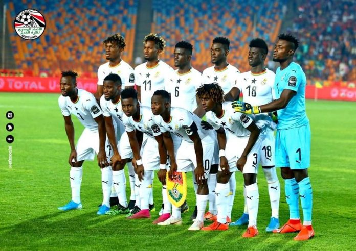 Ghana miss out on clinching qualification to 2020 Tokyo Olympic Games after losing to South Africa today