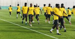 21 Black Stars players en rout to Cape Coast