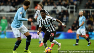 Atsu excels in Newcastle's 2-2 draw with Manchester City