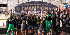 Ghanaian midfielder Kwame Awuah clinches first Canadian Premier League title with Forge FC