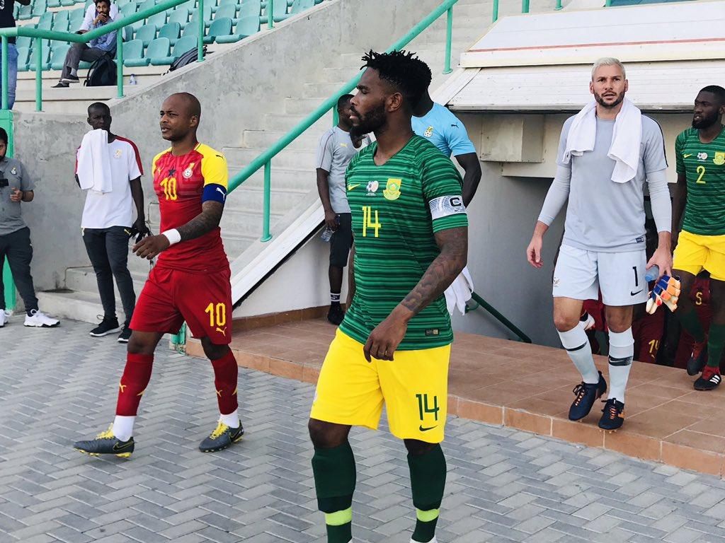 SAFA announce change in venue for Bafana Bafana's clash with Black Stars from Accra to Cape Coast