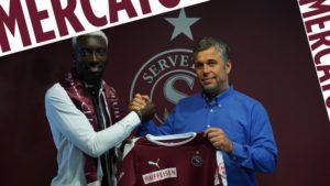 Ghana's Grejohn Kyei scores as Servette FC beat FC Luzern