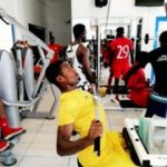 VIDEO: Hearts players taken through workout routines at Koflex gym