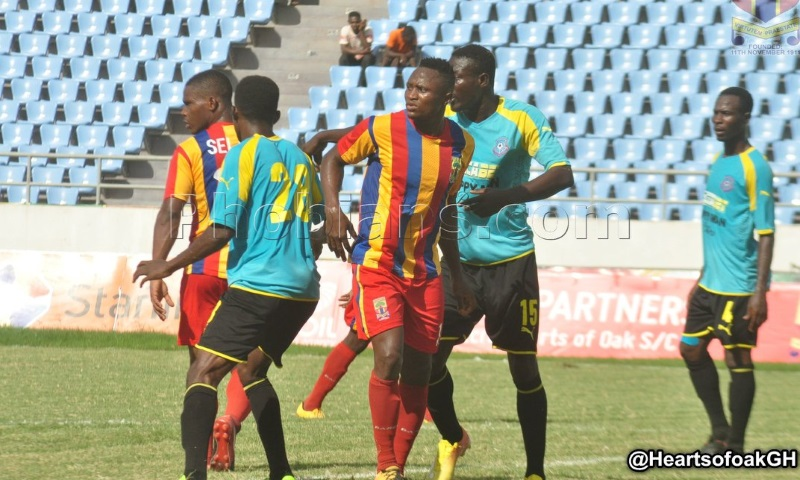Match Report: Wa All Stars hold Hearts of Oak to 1-1 draw in Accra