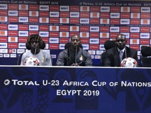 U-23 Afcon: Black Meteors played a great game against Egypt - Coach Ibrahim Tanko
