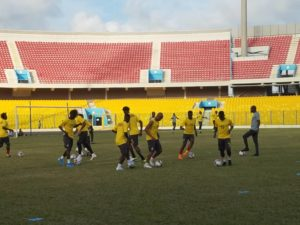 Watch Black Stars training session at Accra Sports Stadium ahead of South Africa encounter [VIDEO]