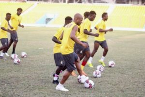 2021 Afcon qualifiers: Black Stars to train in Cape Coast today ahead of South Africa clash