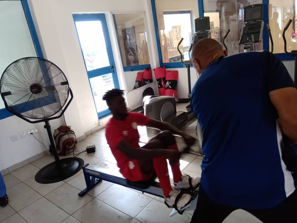 Hearts of Oak players hit the gym as training intensifies ahead of new season