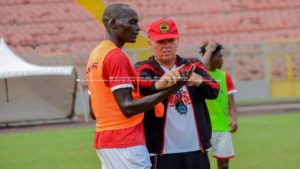 Zacahariassen will be in Ghana tomorrow to resume his post