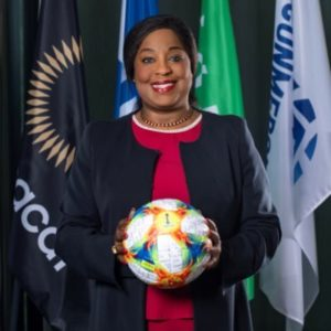 Fatma Samoura encourages Meteors after losing to Ivory Coast on penalties