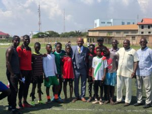 U-15 scouting ends today in Ho