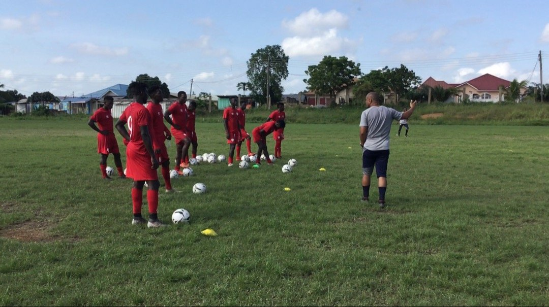 Hearts of Oak continue training this afternoon ahead of start of Ghana Premier League