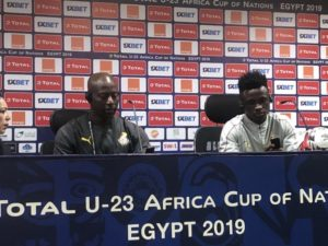 U-23 AFCON: Coach Ibrahim Tanko assures Ghana will give their all against South Africa to keep Olympic Dream alive