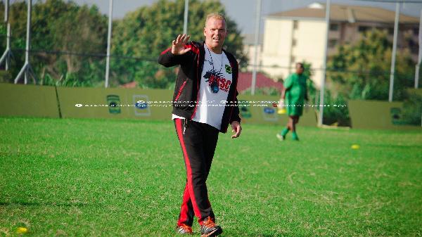 Kotoko coach Kjetil Zachariassen packed out of Asokwa residence before FC San Pedro return leg