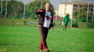 VIDEO: Irate Kotoko supporters call for coach Kjetil Zachariassen to be sacked over Confederation Cup failure