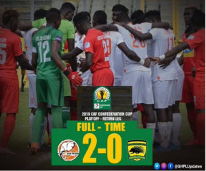 VIDEO: Watch highlights of Kotoko's 2-0 defeat to FC San Pedro in the CAF Confederations Cup