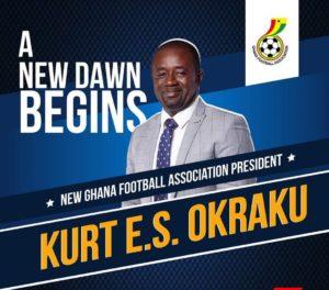 Gambia FF president congratulates newly elected GFA boss Kurt Okraku