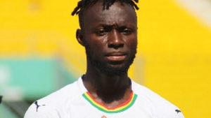 Striker Kwabena Owusu arrives at Black Meteors camp in Egypt