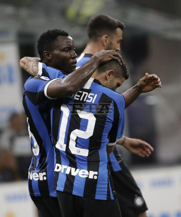 Kwadwo Asamoah hails Inter Milan teammate for Coppa Italia progress
