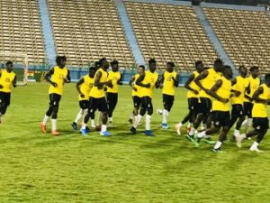 CAF U-23 AFCON: Ghana continue training ahead of Cameroon clash on Friday [PHOTOS]