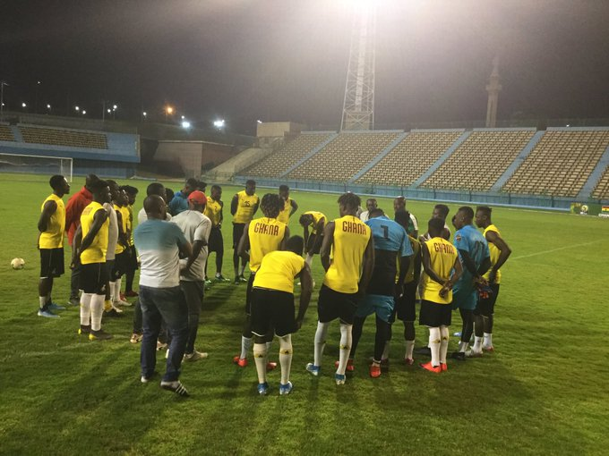 2019 U-23 Afcon: Black Meteors hold recovery session ahead of Mali clash