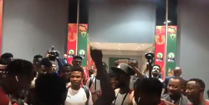 U-23 AFCON: Black Meteors players in hot 'jama' mood ahead of Egypt cracker tonight