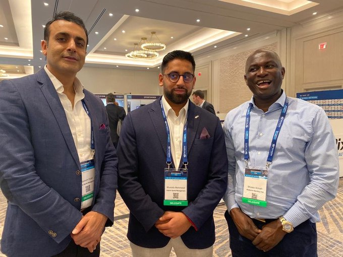 Medeama SC president Moses Armah Parker in USA for 2019 Soccerex
