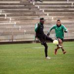 Kwabena Owusu joins Córdoba CF teammates to train after returning from international duty
