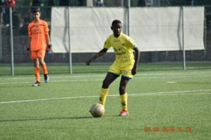 Mike Aidoo stamping his mark in Italy's U15 youth division