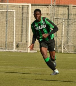 Jeremiah Rudolf Boakye on target for Sassuolo in Italian youth division