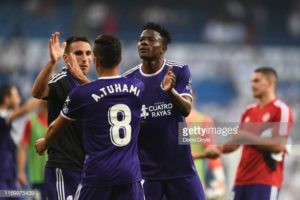 Ghanaian youngster Mohammed Salisu stars in Real Valladolid's win over Mallorca