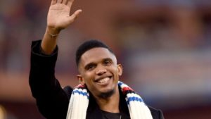 Eto'o worries about Bafana Bafana's inability to dominate Africa