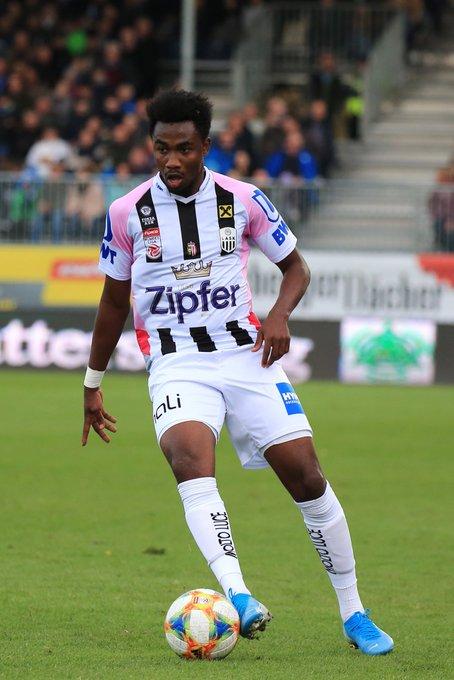 Ghana winger Samuel Tetteh name included in Austria Bundesliga 'Team of the Week