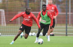 Ampomah, Tekpetey on target for Fortuna Düsseldorf in friendly win over SV Meppen