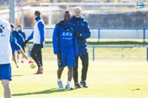 Ghanaian Mubarak Wakaso recovers from injury ahead of Alavés' clash against Eibar